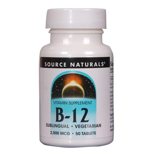 B-12 ,2000 Mcg Sublingual Vegetarian Tablet