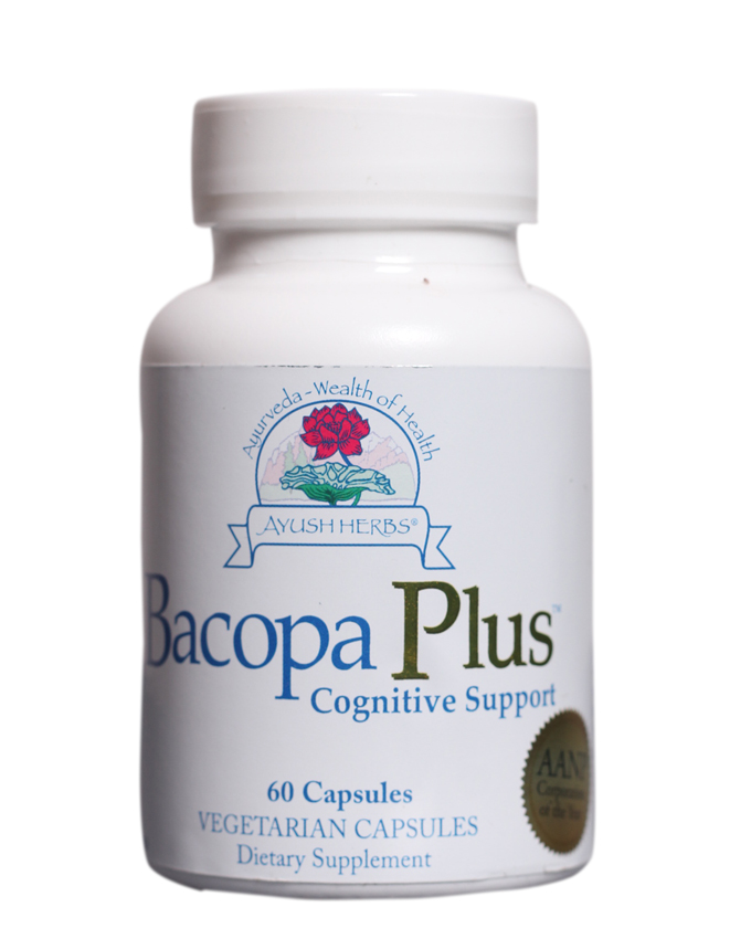 Bacopa Plus Herbal Supplement, 60 Count