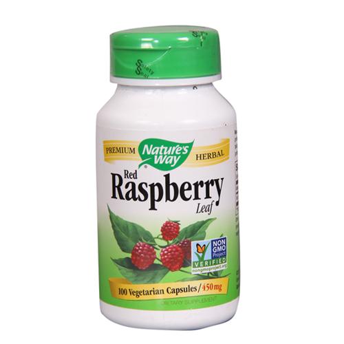 Nature's Way Red Raspberry Leaf 450 Mg, 100 Veg caps