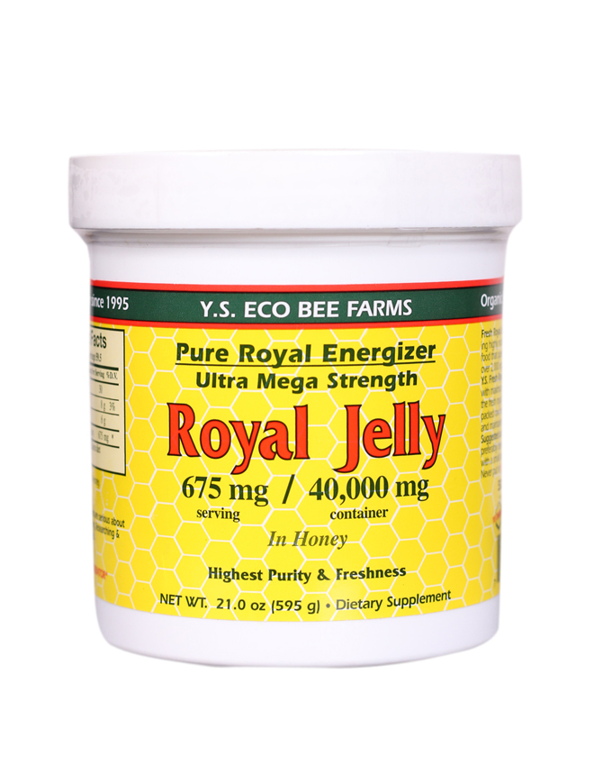 Royal Jelly In Honey Ultra Strength, 21 Oz