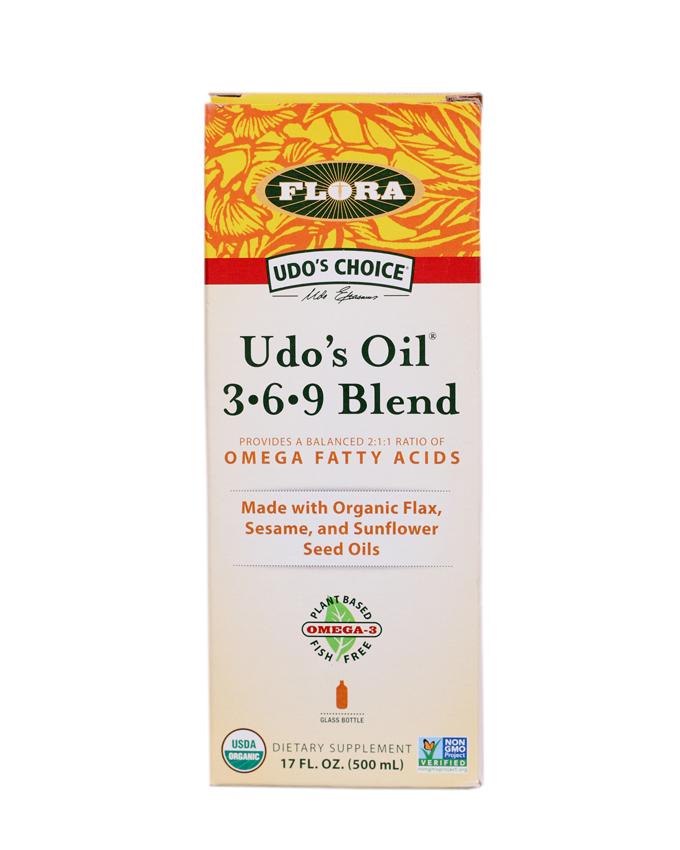 Udo's Choice Udo's Oil 3 6 9 Blend - 17 Oz (500ml)