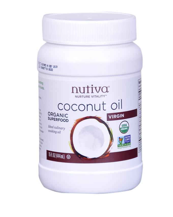 Organic Virgin Cold Pressed Coconut Oil.