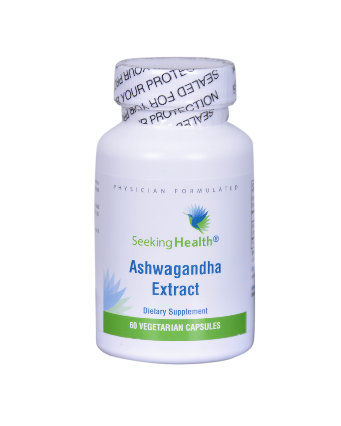 Ashwagandha Extract.( Lowers Stress Hormones in the Body)