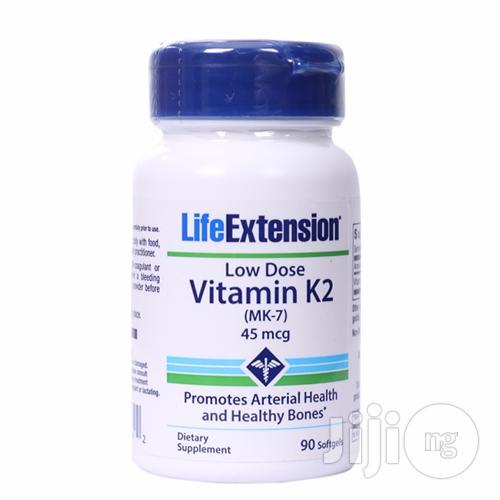 Vitamin K2 (MK-7), 45 Mcg