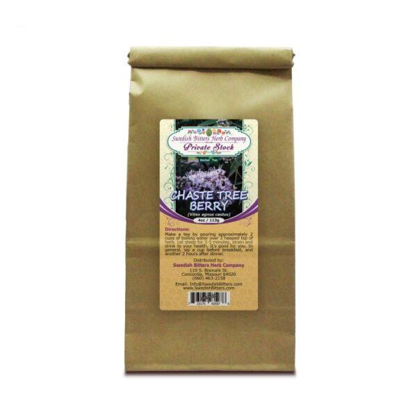 Chaste Tree Berry (Vitex Agnus Castus) Herbal Tea - Improves Fertility