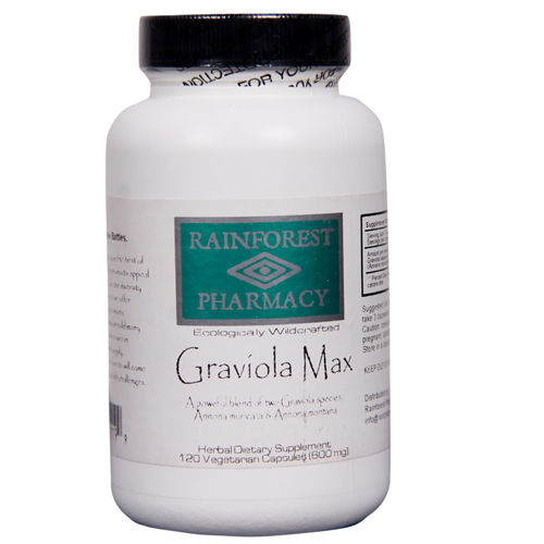 Graviola Max Capsules 600 Mg - For Immune Support