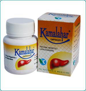 Kamalahar Capsules - Hepatitis Natural Medicine