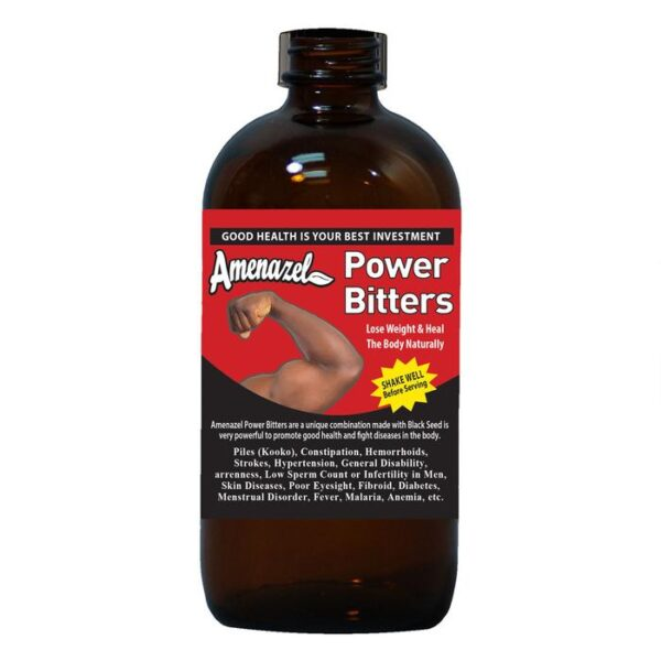 Diabetes and Hypertension Natural Remedy. Power Bitters.