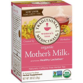 Traditional Medicinals Organic Mother's Milk Women's Tea, 16 Tea Bags