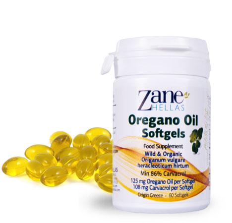 Oregano Oil Softgels - Natural Antibiotic For Staph