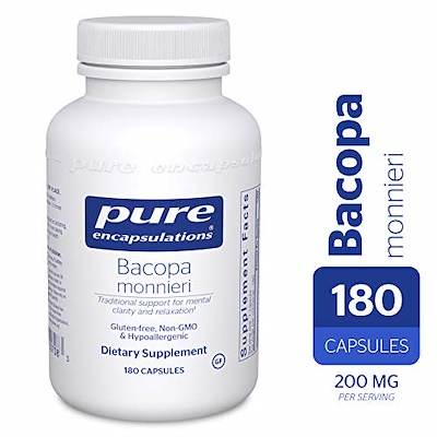 Bacopa monnieri - Supports memory and mental performance
