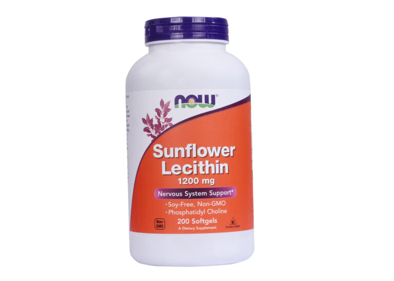 Sunflower Lecithin 1200 mg Softgels - Nervous System Support